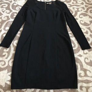 DKNY Sheer Sleeve Dress